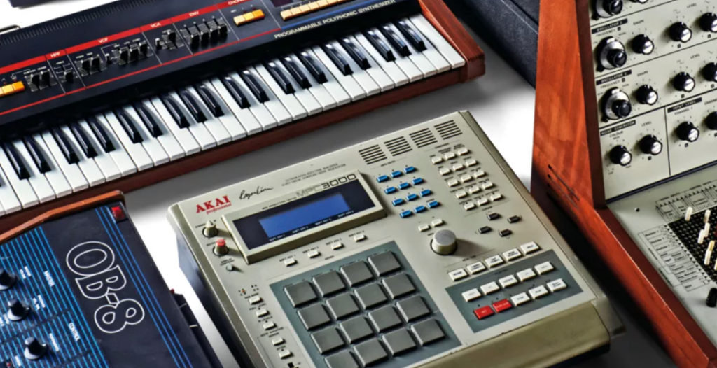 vaporwave synthesizers and samplers used for music production